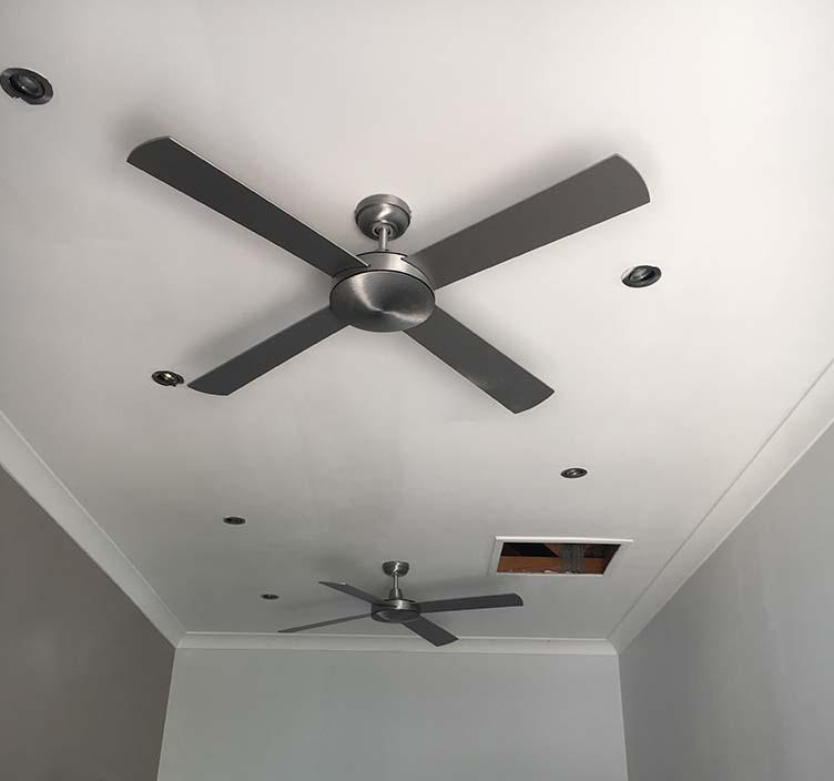 Ceiling fan installation grima electric ceiling fan installation aloadofball Image collections